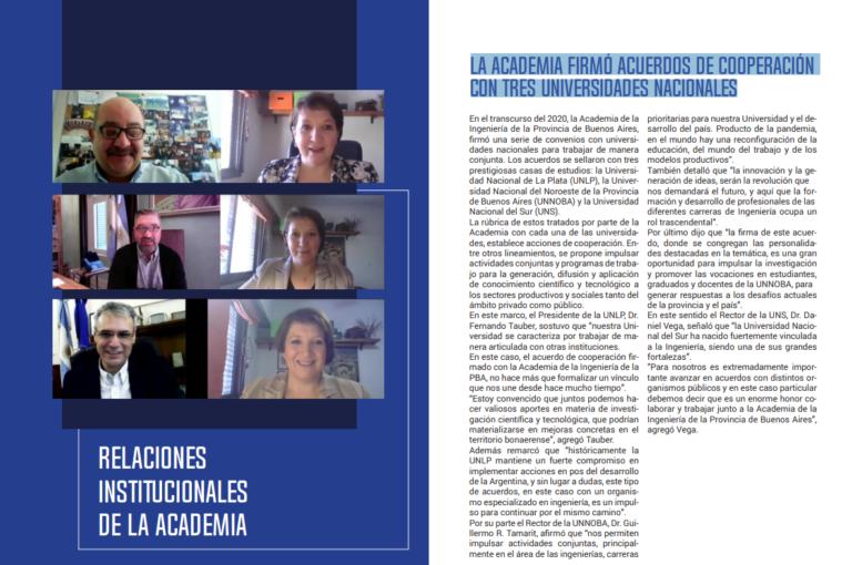 Lee más sobre el artículo La Academia firmó acuerdos de cooperación con tres universidades nacionales
