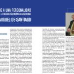 Homenaje al Ing. Miguel De Santiago