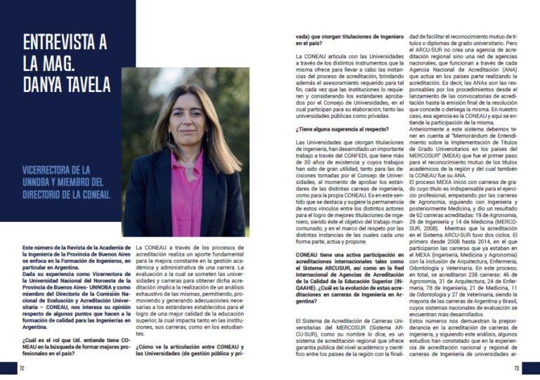 Lee más sobre el artículo Entrevista a la Mg. Danya Tavela